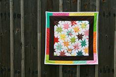 Wonky, Wonky, Little Star - Mini Quilt Monday — Fresh Lemons Quilts Star Quilt Blocks, Star Quilts, Quilting Tips, Quilting Designs, Quilt Design, Quilting Tutorials, Cute Quilts, Mini Quilts, Quilt Border