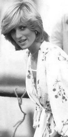 A very young Princess Diana