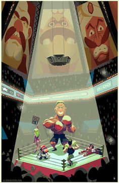A Little Bit On The Punch-Out Side