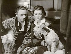 William Powell, Myrna Loy and Asta in the Thin Man