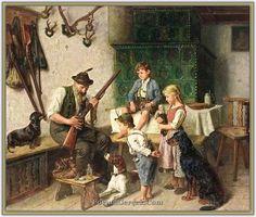 Adolf Eberle (1843 - 1914) | Alman Ressam - Forum Gerçek