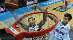 Poland sports | ... Joel Freeland (r) and Poland's Adam Hrycaniuk fight for the ball