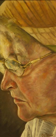 Raija Merilä (©2009 artmajeur.com/arcticpro) Raija Merilä has made many portraits from life models, pictures, videos etc. This is portrait of her mother. Oil on canvas.