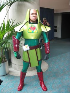 Lex Luthor, not all comic book villains should have costumes. #cosplay