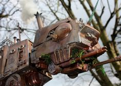 Steampunk AT-AT is a labor of Star Wars love via @CNET   #LoveIt !!!!!!!