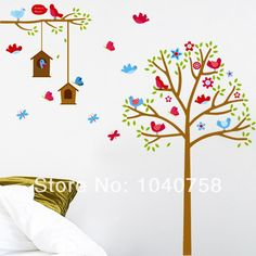 tree wall stickers kids baby room home decor butterfly decoration avenger wall sticker baby kids room stickers cartoon decals home decor