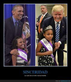 La misma niña cuando conoce a Obama y cuando conoce a Trump - La cara de un niño nunca miente   Gracias a http://www.cuantarazon.com/   Si quieres leer la noticia completa visita: http://www.estoy-aburrido.com/la-misma-nina-cuando-conoce-a-obama-y-cuando-conoce-a-trump-la-cara-de-un-nino-nunca-miente/