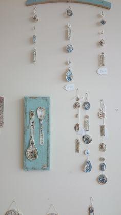 Delicate porcelain work by Emma Louise Wilson