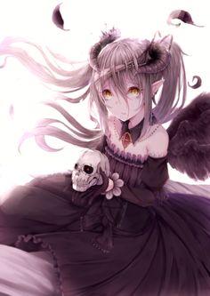 cute-girls-from-vns-anime-manga: 悪魔娘...   Slice of Life is Love