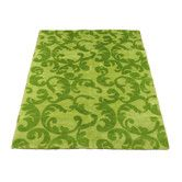 Found it at Wayfair - Modern Kiwi/Lime Rug