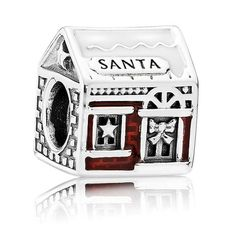 94f9b077d PANDORA Santa's Grotto Charm 792003ENMX. Fitness BraceletPandora JewelrySilver  BeadsNorth ...
