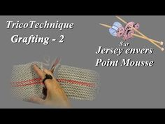 (3) Tuto tricot : Grafting - Partie 2 - YouTube Tricot Grafting, Couture, Crochet Hats, Patience, Diy, Dots, Tuto Tricot, Crochet Patterns, Wool
