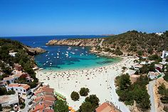 Dreaming of beaches? Check out this one in Ibiza, Spain