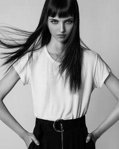 Maria Clara, styled by Catarina Ferreira Pinto,  make up & hair by Tiago Figueiredo