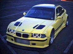BMW-e36-e46-Tuning-GT-R-Bonnet-gills-DTM-hood-Vents-grilles-M3