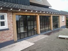 Sun Room, Bricks, Pergola, Garage Doors, Interior, Garden, Outdoor Decor, House, Ideas