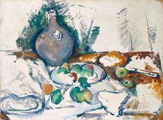 Paul Cézanne, 'Still Life with Water Jug' on ArtStack #paul-cezanne #art