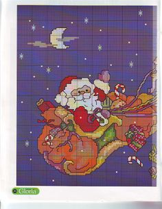 ♥Meus Gráficos De Ponto Cruz♥: Natal