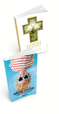 FREE- Summer Boredom Busters & Glimpses of Glory in the Garden Devotional