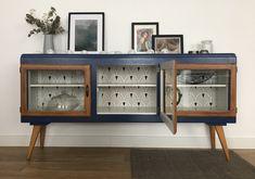 Vintage Joseph 4 TV stand - Home Decor For Entertainment Armoire Makeover, Furniture Makeover, Furniture Projects, Diy Furniture, Coaster Furniture, Furniture Plans, Painted Furniture, Colorful Furniture, Vintage Furniture