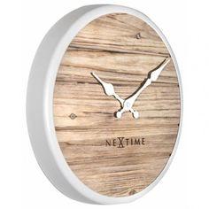 Best Wall Clocks, Unique Wall Clocks, Farmhouse Wall Clocks, Plank Walls, Digital Wall, Telling Time, Grey Wood, Wood Colors, Wood Grain