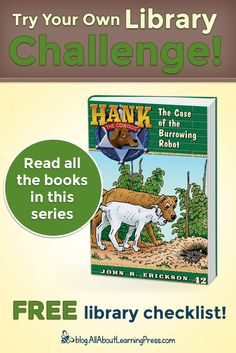 Challenge your child to read all the books in the Hank the Cowdog chapter book series! Read Aloud Books, Free Library, Reading Challenge, Chapter Books, Book Series, Homeschool, Childhood, Challenges, Club