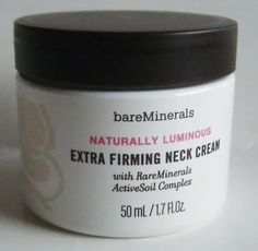 Bare Escentuals bareMinerals Naturally Luminous Extra Firming Neck Cream - what a difference this makes