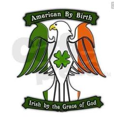 Irish Quotes: American by birth. Irish by the grace of God . Celtic Pride, Irish Pride, Irish Celtic, Celtic Art, Irish Men, Tribal Tattoos, Tattoos Skull, Celtic Tattoos, Saint Patrick