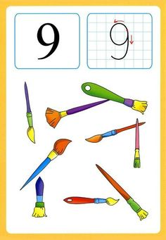 Preschool and Homeschool Kindergarten Projects, Kindergarten Math Activities, Math Games, Preschool Activities, Numbers Preschool, Learning Numbers, Math Numbers, Number Flashcards, Classroom Rules