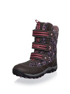 0% OFF Geox Kid's Alaska Boot (Dark Brown)