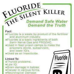 Fluoride the silent killer