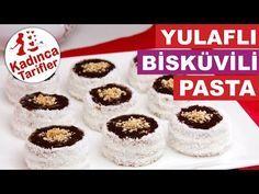 Yulaflı Bisküvili Pasta Tarifi Videosu   Kadınca Tarifler   Kolay ve Nefis Yemek Tarifleri Sitesi - Oktay Usta