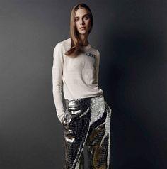 5 Tendencias na moda feminina outono-inverno 2016.  #moda #tendencia #inverno #outono #casaco #metalizados #sobretudos