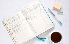 5 moich ulubionych stron w bullet journal - cele, rozwój, nawyki, organizacja zadań.