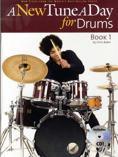 #pianosoftware A New Tune A Day For Drums - Book One (Book And CD)