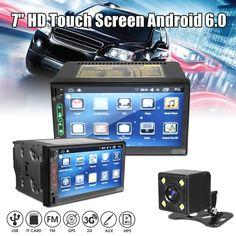 7 Inch HD Touch Screen Android 6.0 Bluetooth WiFi GPS RK-A705 FM AM Radio Car MP5 Player Car Lights, Car Audio, Wifi, Bluetooth, Automobile, Motorcycles, Android, Touch
