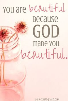 Don't feel beautiful? Yeah, I've felt that way too. But just because we don't…