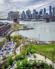 Brooklyn Bridge Park by Chandle Lee