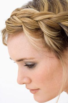 French Braid Hairstyle cute hair pretty hair color french braid hairstyle hair ideas hair cuts french braid