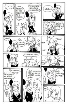 Page 3 Read Natsu x Lucy: He's mine from the story {Drop}Fairy tail doujinshi by RubyKuroibara (Hải Phương) with 298 reads. Fairy Tail Funny, Fairy Tail Love, Fairy Tail Nalu, Fairy Tail Ships, Nalu Comics, Anime Comics, Lucy Fairy, Natsu E Lucy, He's Mine