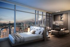Modern Condo Bedroom. Tailored Lending Solutions Can Provide You With The Right Solutions To Make It Happen!