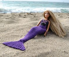 Picture of Knit Mermaid Tail for Dolls