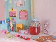 kawaii cute sfeer schattig inspiratie rilakkuma mason jar nederland Pashoesjes, sticky notes, pennen, memo blaadjes, mappen en meer!!
