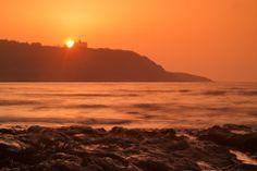 Sunrise Over Pendennis Castle #photography #gift #canvas #landscape #nature