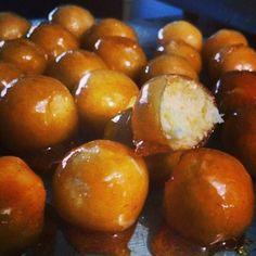 Bala baiana (bala de vidro) ou beijinho caramelizado