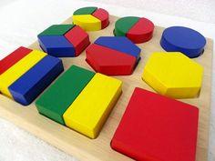 [● store feliz trébol artículo Ojuken] (en minutos) juguetes de madera materiales educativos juguetes educativos juntos forman fomentar el poder de la forma y el plano tridimensional