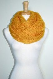 Enjoy this gorgeous and soft knitted infinity scarf all season long.  It is functional and versatile from day-to-night. $17.99 Use code PINIT at checkout for 10% off your entire order.