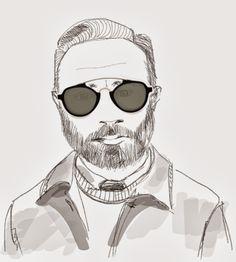 Winter Sun...LGR sunglasses and a beard   Eyespectacle sunglasses eyewear blog #LGRsunglasses #LGR #L.G.R.
