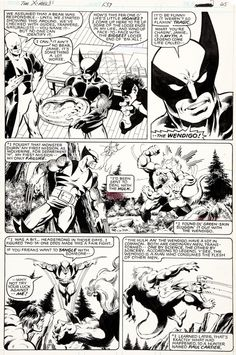 johnbyrnedraws:  X-Men #139, page 25 by John Byrne & Terry...