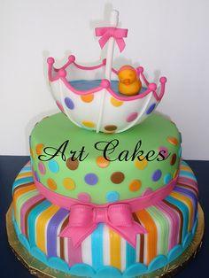 Baby Shower Cake-love this